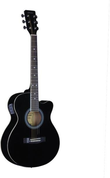 Hertz HZA-5200 (BLACK) Semi-acoustic Guitar Linden Wood Rosewood