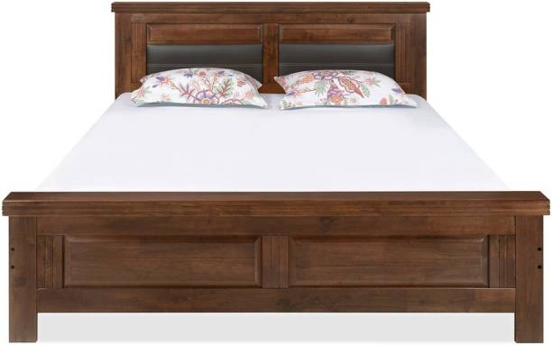 @Home by nilkamal Dexter Solid Wood King Bed