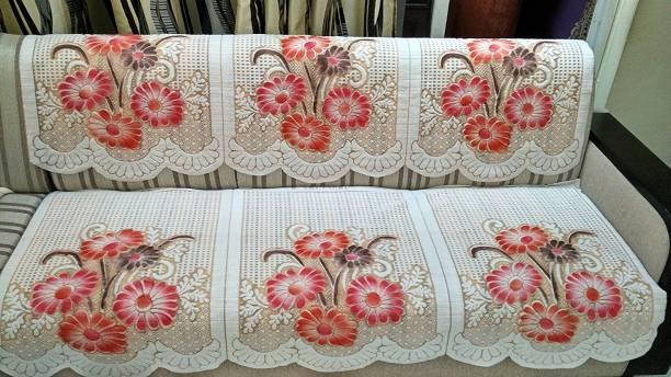 vivek homesaaz Polyester Sofa Cover