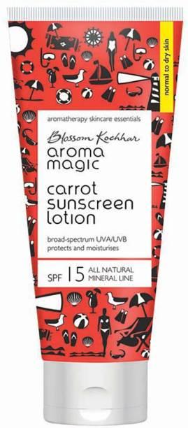 Aroma Magic Carrot Sunscreen Lotion 50 ml - SPF 15 PA+