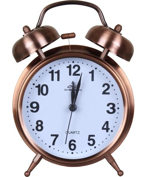 ONEKLIK Analog Copper   Twin Bell Alarm Clock