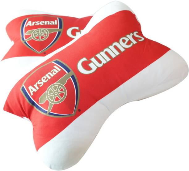 Arsenal FC Multicolor Polyester Car Pillow Cushion for Universal For Car 6d9e7c0d7