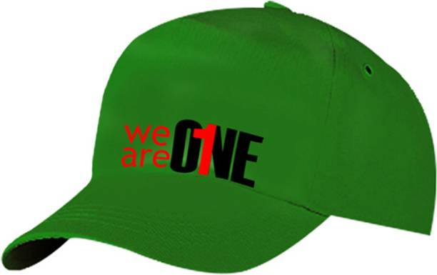 0105270e101 Peace Cap - We are One 100% Cotton Fashion Adjustable Cap For Boys Girls