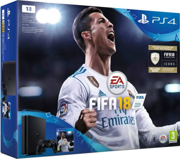 SONY PlayStation 4 (PS4) Slim 1 TB with FIFA18