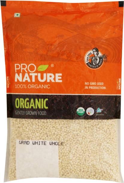 Pro Nature Organic White Urad Dal (Whole)