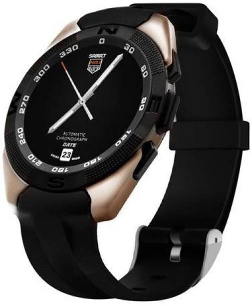 Mobilefit G5 Smartwatch For Desire 210 Golden Smartwatch