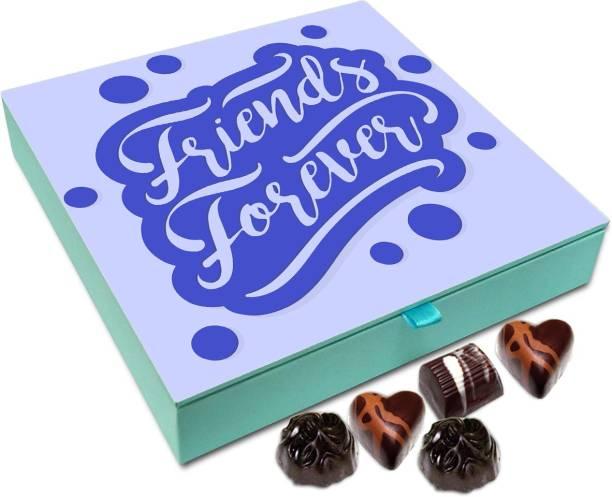 Chocholik Gift Box - Friends Forever Chocolate Box - 9pc Truffles