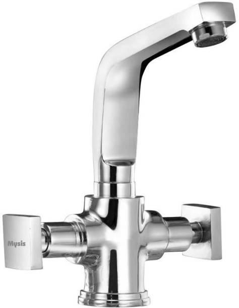 7d1b13b734d Mysis MY-12 Melody Brass Center Hole Basin Mixer With Connection Pipe With  Hot
