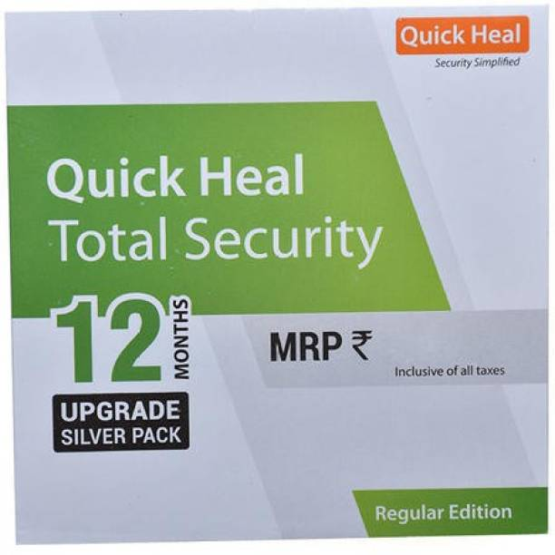 QUICK HEAL Total Security 1.0 User 1 Year (Renewal)