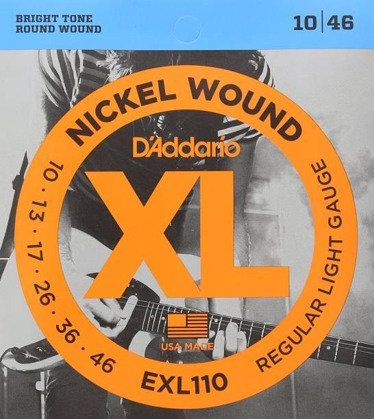 D'ADDARIO Electric Elec. Guitar Strings Set .010-.046 EXL110 Guitar String