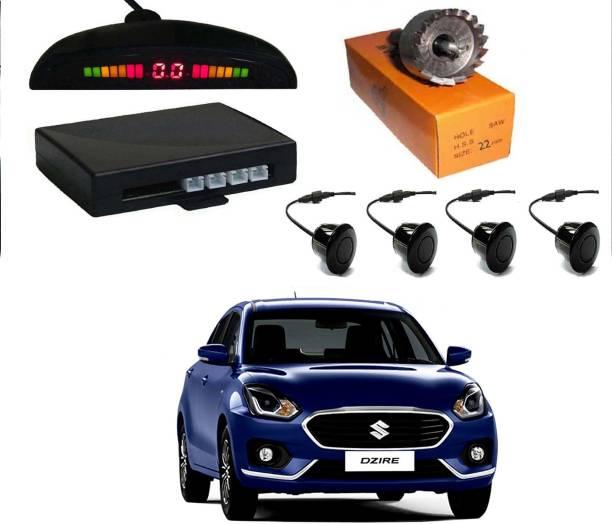 AUTO PEARL MI2P13 Premium Quality Car Black Parking Reverse Sensors - Maruti Swift Dzire 2017 Parking Sensor
