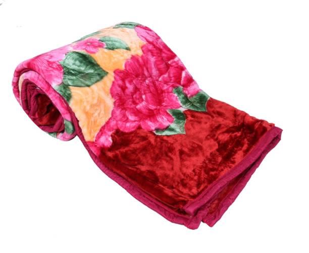 Indistar Solid Double Mink Blanket