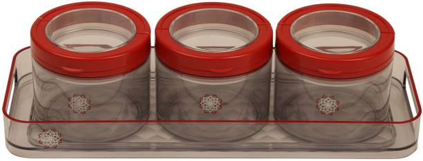 Jaypee Plus Translite Red Tray, Container Serving Set