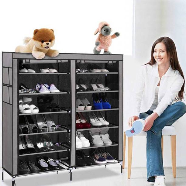Sukot Fabric Collapsible Shoe Stand