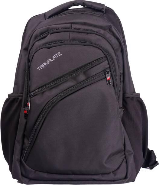 Travalate Basic Black 50 Ltr Travel Laptop Bag Trekking Bag 50 L Laptop  Backpack eaf9ffbdd5bda