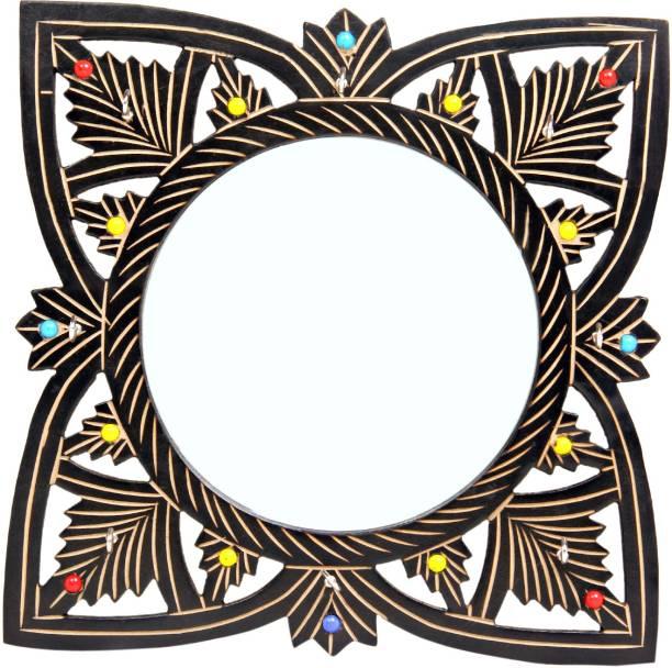 Fab Handicraft Square Mirror Decorative
