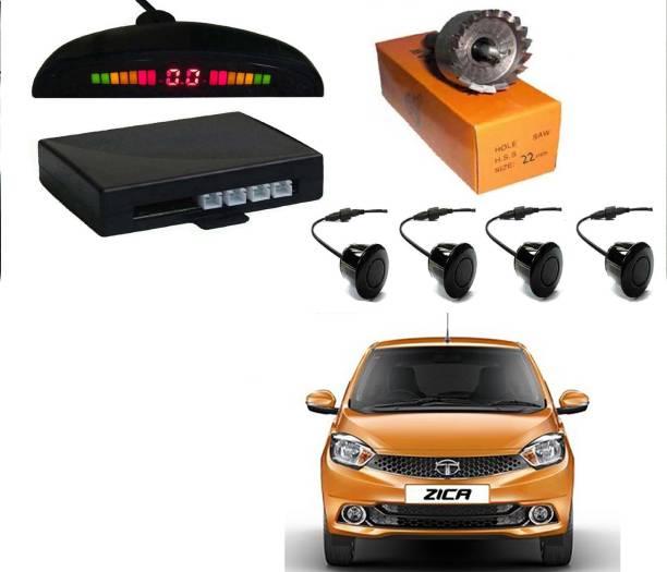 AUTO PEARL MI2P17 Premium Quality Car Black Parking Reverse Sensors - Parking Sensor