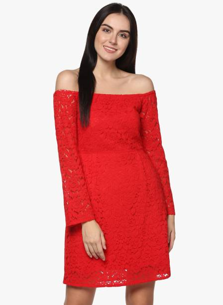 ffaa62ae3dfd Lace Dresses - Buy Lace Dresses Online at Best Prices In India ...