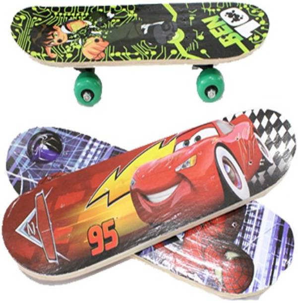 Firstep Skate Board for Kids (Color and Design varying)