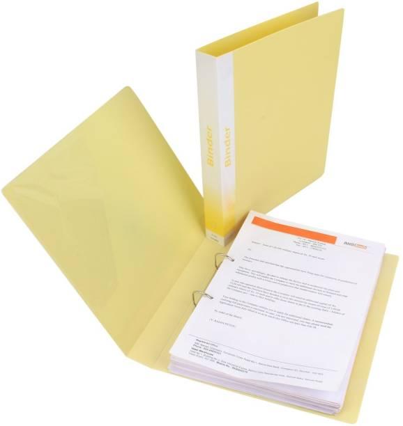 TRANBO Plastic 2D A4 Size Ring Binder Box File.