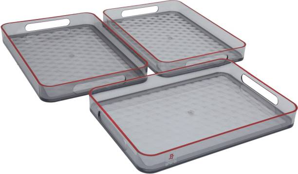 Jaypee Plus Prisma Small Grey Cup Tray Serving Set