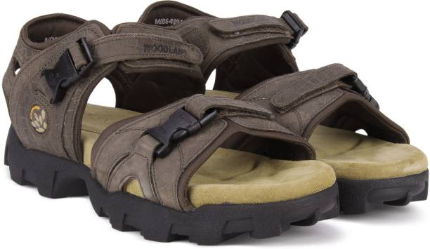 be521455409 Woodland Men BROWN Sandals