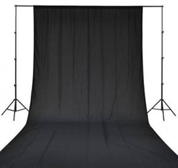 BOOSTY 8 x12 FT BLACK LEKERA BACKDROP PHOTO LIGHT STUDIO PHOTOGRAPHY BACKGROUND Reflector