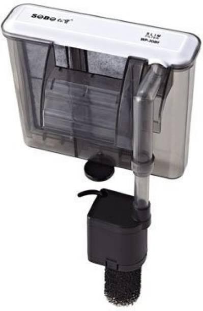SOBO Slim Filter WP-408H Power: 6.8W | F.MAX: 680L/Hr Sponge Aquarium Filter