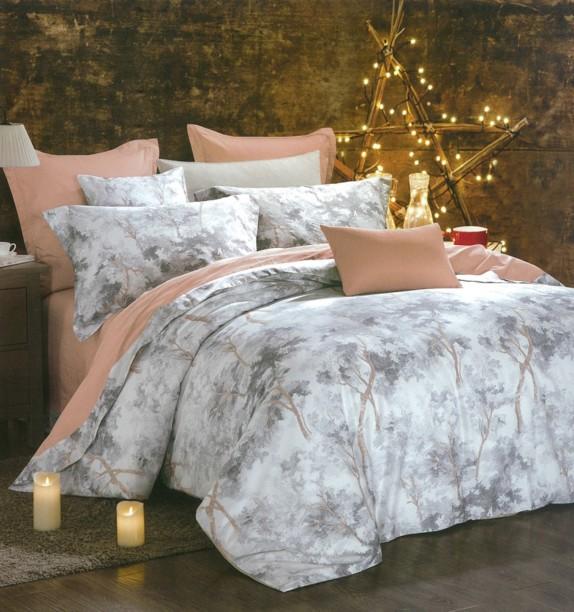 Petal Soft 300 TC Cotton Double King Printed Bedsheet