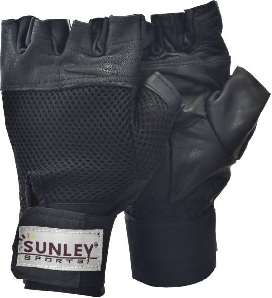 SUNLEY gym gloves with wrist support Gym & Fitness Gloves