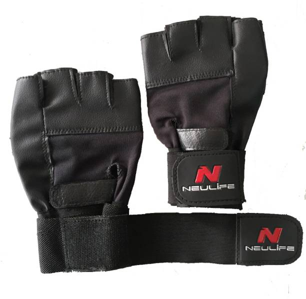 Neulife Smart With Wrist Supports Gym & Fitness Gloves