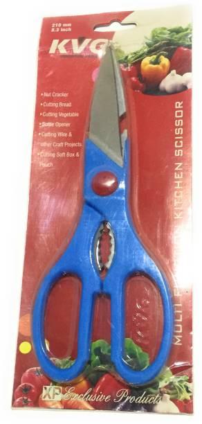 KVG Multipurpose Kitchen Scissor / Nut Cracker Steel All-Purpose Scissor