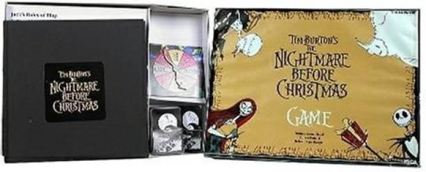 neca nightmare before christmas board game board game - Nightmare Before Christmas Board Game