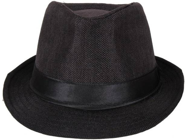 42cfaed55f1 Techamazon Black Premium Cotton Hat Cap   Baseball Cap   Snapback Cap   Hiphop Cap