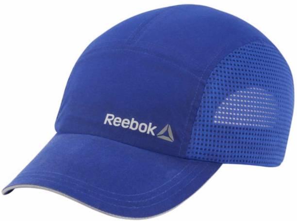 REEBOK Solid Blue OS RUNNING PERFORMANCE Cap 0da713267439
