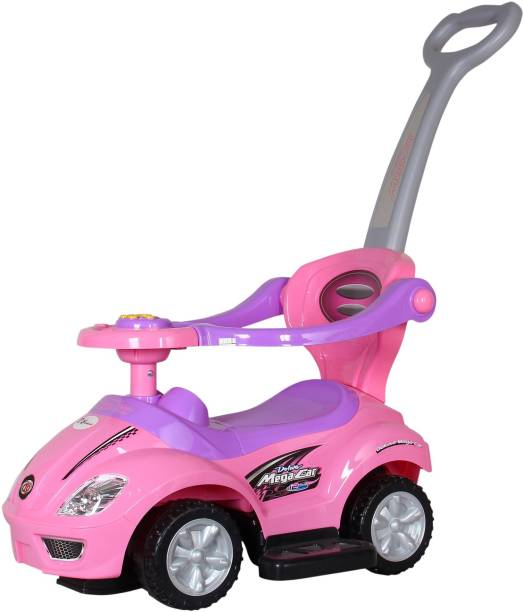 Toyhouse 3 in 1 Deluxe Mega Push Car Car Non Battery Operated Ride On
