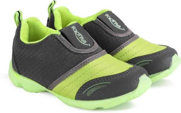Footfun By Liberty Boys Girls Slip On Running Shoes