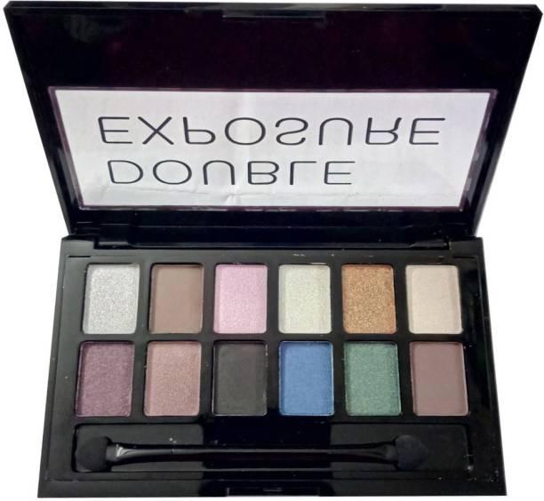 Sivanna Double Exposure Eyeshadow Palette 12 g