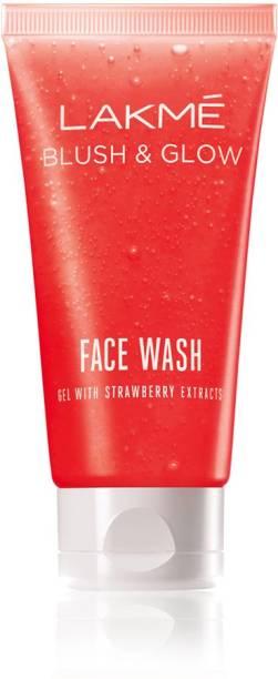 Lakmé Blush and Glow Strawberry Gel Face Wash