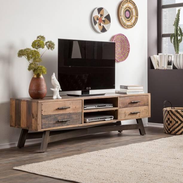THE ATTIC Sheesham Wood Solid Wood TV Entertainment Unit