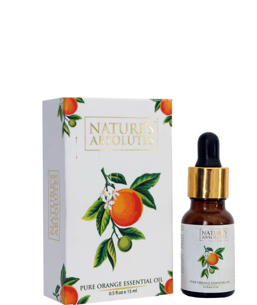 Nature's Absolutes Orange essential oil for hair , skin and aromatherapy