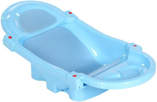 MeeMee Foldable and Spacious Baby Bath Tub (Blue)