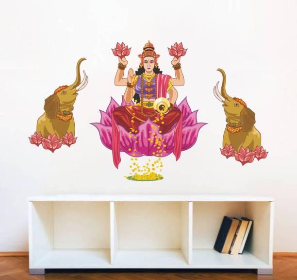 Rawpockets Goddess Laxmi with Elephant