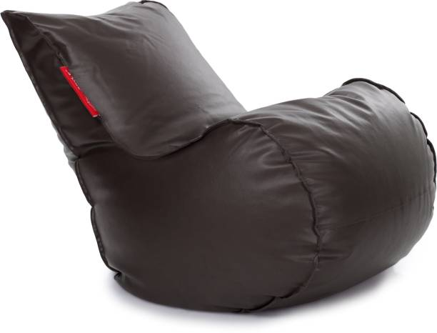 STYLE HOMEZ XL Chair Bean Bag Cover  (Without Beans)