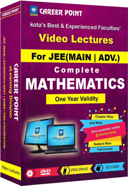 Career Point Kota JEE (Main/Advance) Video Lectures Complete Mathematics (1 Year) By Career Point Kota