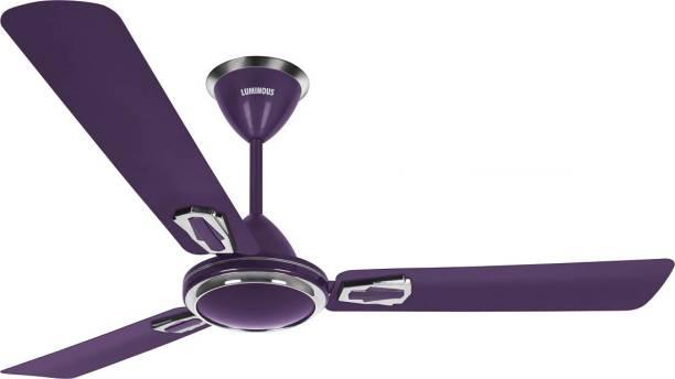 Luminous Krona 5 Star 3 Blade Ceiling Fan