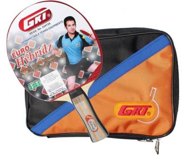 GKI Euro Hybridz With Soft Tatron Cover Multicolor Table Tennis Racquet