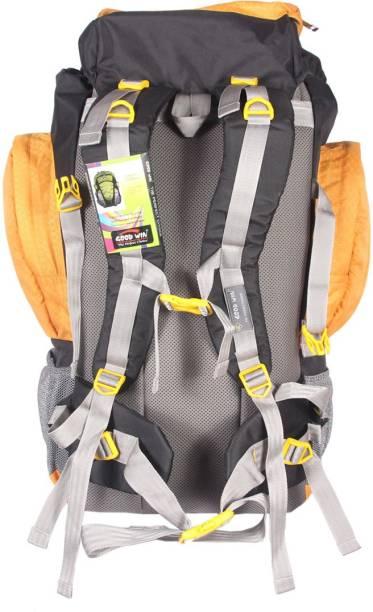 HANDCUFFS Backpack for Outdoor Hiking Trekking Camping Rucksack Unisex Travel  Luggage Bag- Orange 30 L eb746646b8