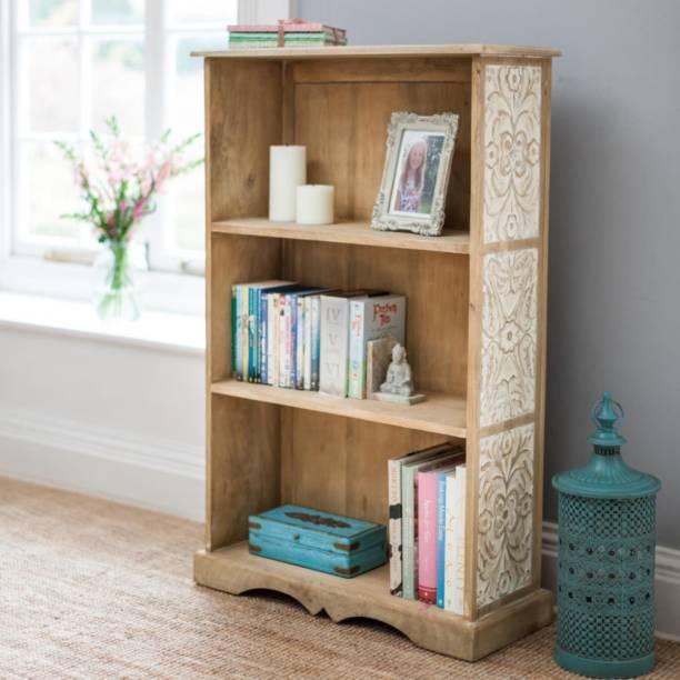 THE ATTIC Solid Wood Open Book Shelf