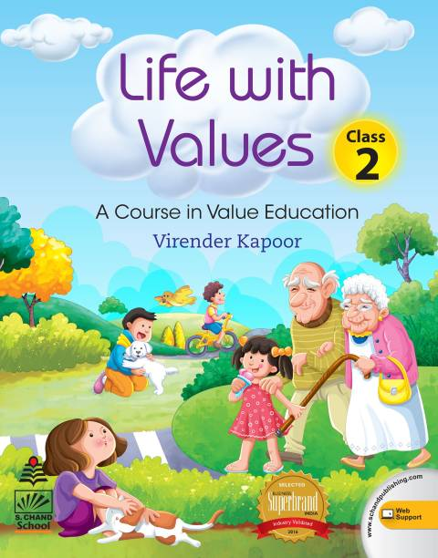 Life with Values -2 (for 2021 Exam) - A Course in Value Education First Edition
